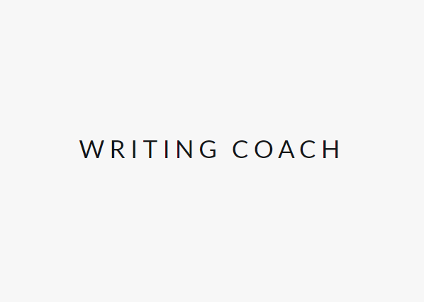 writing coach services