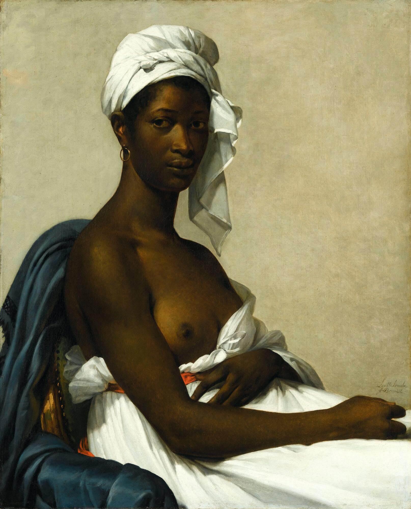 Portrait of Madelaine, Marie-Guillemine Benoist