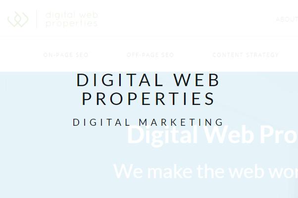 digital web properties